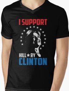 I support Hillary Clinton Mens V-Neck T-Shirt
