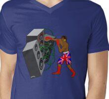 Beat the sound Mens V-Neck T-Shirt