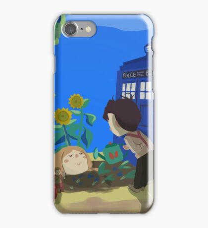 Doctor Who - Companion Planting iPhone Case/Skin