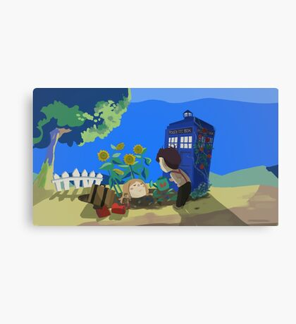 Doctor Who - Companion Planting Canvas Print