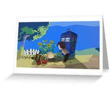 Doctor Who - Companion Planting Greeting Card