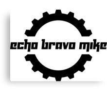 Echo Bravo Mike Canvas Print
