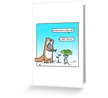 Otterly special Greeting Card