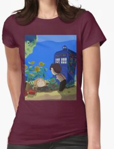 Doctor Who - Companion Planting Womens Fitted T-Shirt