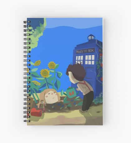 Doctor Who - Companion Planting Spiral Notebook