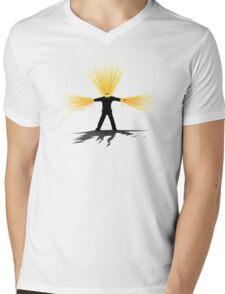 Time Lord Regeneration Mens V-Neck T-Shirt