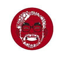 Hayao Miyazaki Friends Parody Photographic Print