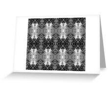 Shattered Glass b/w Greeting Card