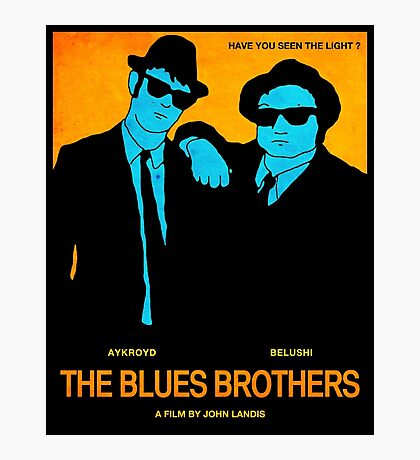 The Blues Brothers Photographic Print