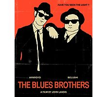 The Blues Brothers - Red Photographic Print
