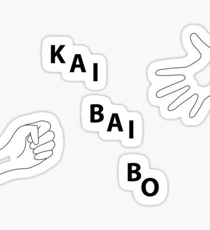 Kai Bai Bo Sticker
