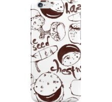 Seeds&Nuts iPhone Case/Skin