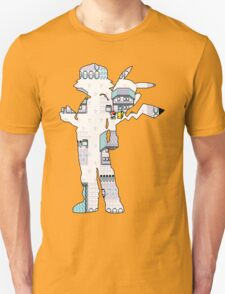 reversed ash - Pokemon yellow Unisex T-Shirt
