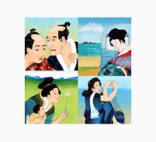 The Hokusai Family and The Hiroshige Family On Vacation Unisex T-Shirt