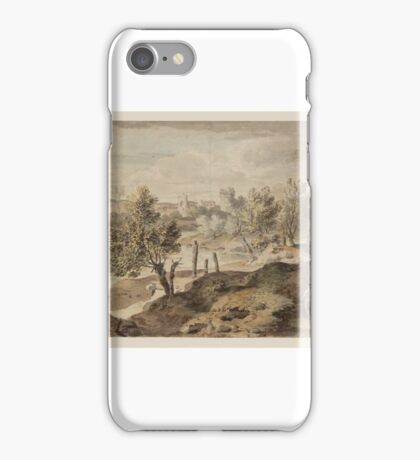 William Taverner Italian Landscape iPhone Case/Skin
