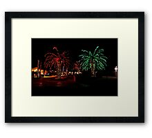 Christmas Palms Framed Print