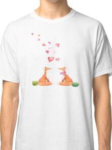 Fox love Classic T-Shirt