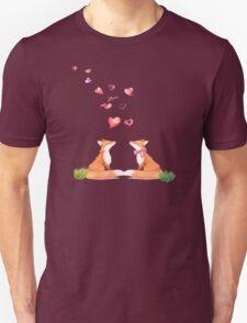 Fox love Unisex T-Shirt