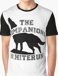 The companions of whiterun - Black Graphic T-Shirt