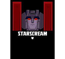 Starscream Photographic Print