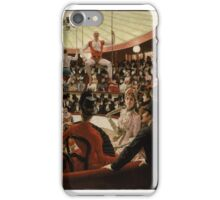 Women of Paris, The Circus Lover James Jacques Joseph Tissot iPhone Case/Skin