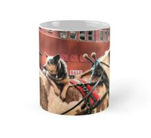 """""""Smart Dog: Lets the Horse Do All the Walkin'""""... prints and products Mug"""