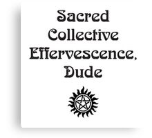 sacred collective Canvas Print