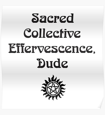 sacred collective Poster