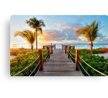 Miami Full Canvas Print