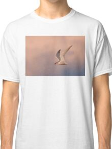 Common Tern with fish Classic T-Shirt