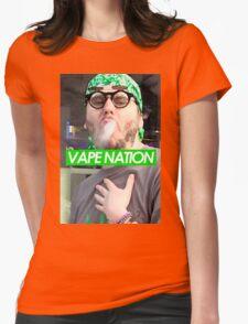 VAPE NATION Womens Fitted T-Shirt