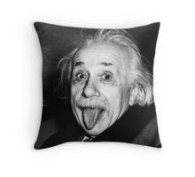 Einstein - ONE:Print Throw Pillow