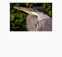 Great Blue Heron up close and personal Unisex T-Shirt