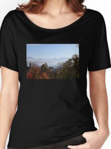 Lucerne scenery Women's Relaxed Fit T-Shirt