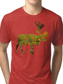 flowers in elk Tri-blend T-Shirt