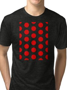 POLKA DOTS Tri-blend T-Shirt