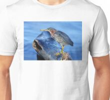 Green Heron Unisex T-Shirt