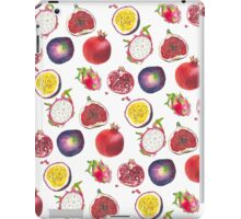 Mixed tropical fruit pattern iPad Case/Skin