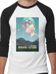 Vape Nation Movie Poster Men's Baseball ¾ T-Shirt