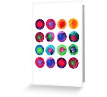Bubbles party Greeting Card