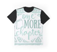 One More Chapter - Pale Blue Tribal Graphic T-Shirt