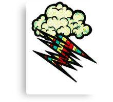 Color Storm Canvas Print