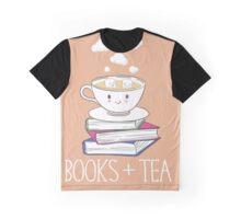 Books + Tea Graphic T-Shirt