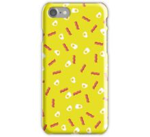 Eggs and bacon iPhone Case/Skin