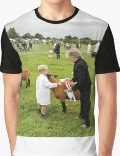 Agricultural Show sheep competition Graphic T-Shirt