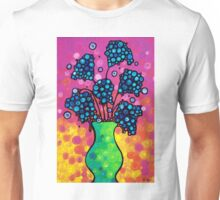 Colorful Flower Bouquet by Sharon Cummings Unisex T-Shirt