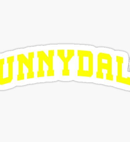 SUNNYDALE - Buffy Movie Sticker