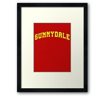 SUNNYDALE - Buffy Movie Framed Print