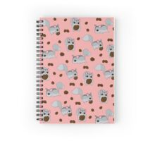 Nutkin Pattern Spiral Notebook