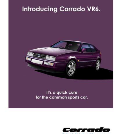 Corrado VR6 Classic Car Advert Sticker